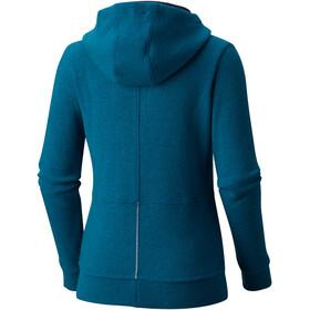 Mountain Hardwear W´s Sarafin Pro Hooded Sweater Dark River